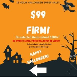 $99 Firm! Halloween sale🎃🎃🎃🎃🎃